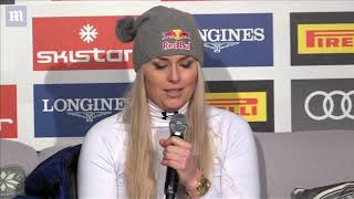 Lindsey Vonn announces her retirement after winning bronze medal