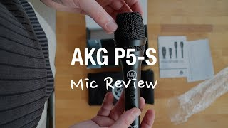 AKG P5S Vocal Microphone Review (Supercardioid XLR)