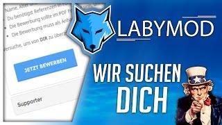 Wir suchen DICH! - Bewirb dich jetzt! [DE]   labymod.net/apply