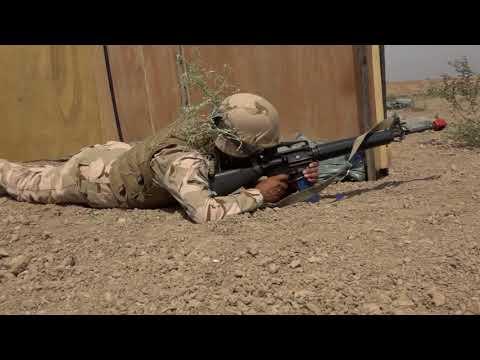 Iraqi Security Force conducts training - CJTF-OIR