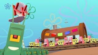 Minecraft | Good vs Evil - KRUSTY KRABS SECRET FORMULA! (Spongebob vs Plankton)