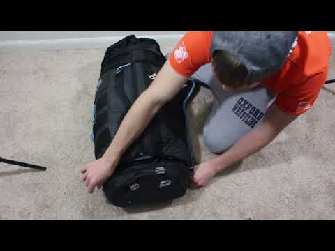 Push Division One Backpack Review. Paintball Backpack Gear Unboxing