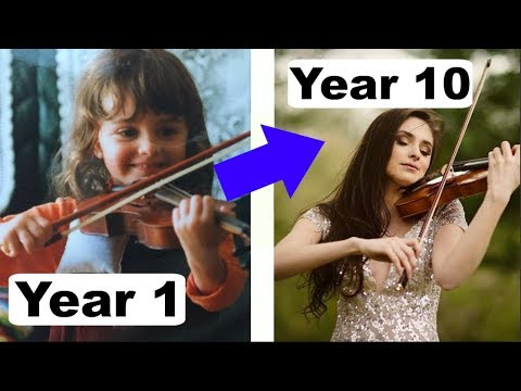 10 Years Violin Progress - From Beginner to Professional