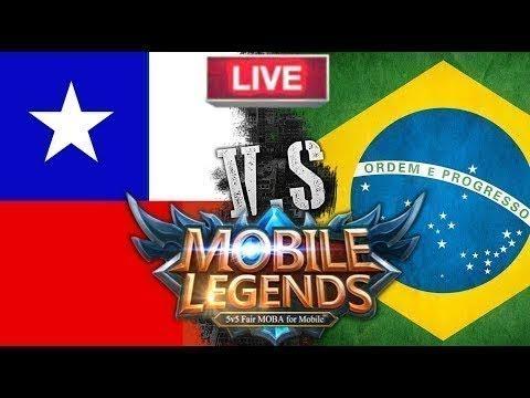●[AO VIVO] BRASIL vs CHILE - Mobile Legends