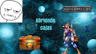 SuperMechs Abriendo la caja dorada mas consejos (primer vídeo comentado)-  Epsilon Eagle