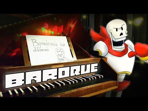 Undertale - Bonetrousle played on a Harpsichord | Improvisation