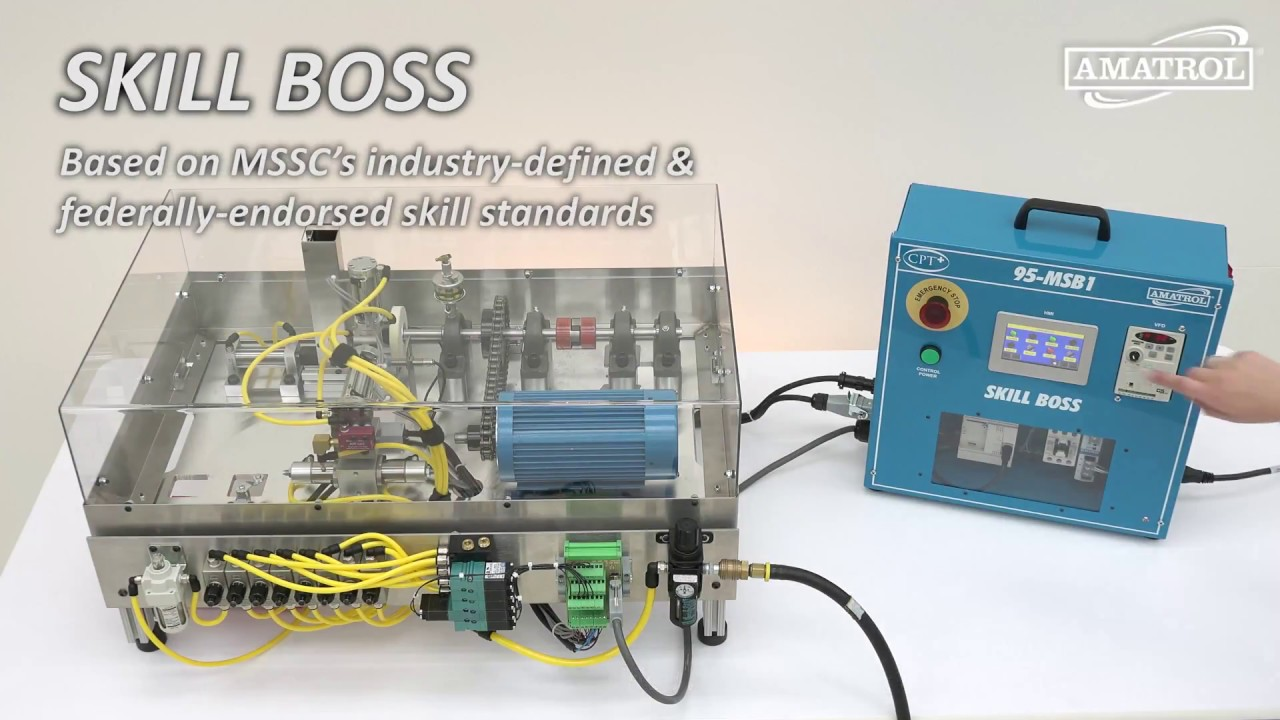 Skill Boss Manufacturing | Amatrol