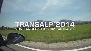 Transalp 2014 Mountainbike Von Landeck bis zum Gardasee (Trentino-Tour)