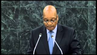 President Jacob Zuma addresses 68th Session of UN General Assembly