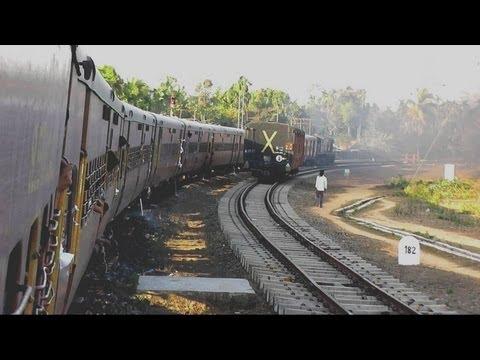Departing from Agartala - Agartala-Lumding Exp. (Feb. 27, 2013)