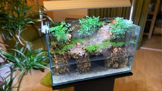 Making a forest with a waterfall【滝のある森を作る】