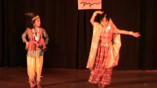 Madhuban mein Jo Kanhaiya Kathak Rendition