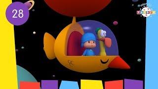 POCOYO WORLD: Having a Ball (EP28) | 30 Minutes with close caption