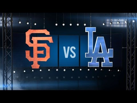 4/27/15: Offense propels Dodgers past Giants, 8-3