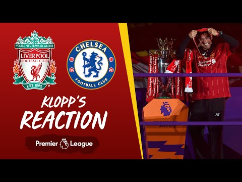 Klopp's Reaction: The boss speaks after 8 goals and the trophy lift | Liverpool vs Chelsea