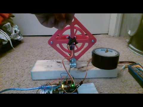 Arduino Reaction Wheel Direction Reversal