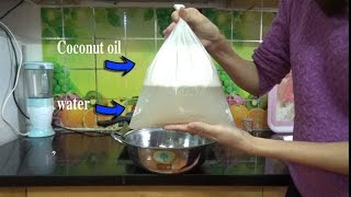 How To Make COCONUT OIL In Your Home (New way, EASIEST)