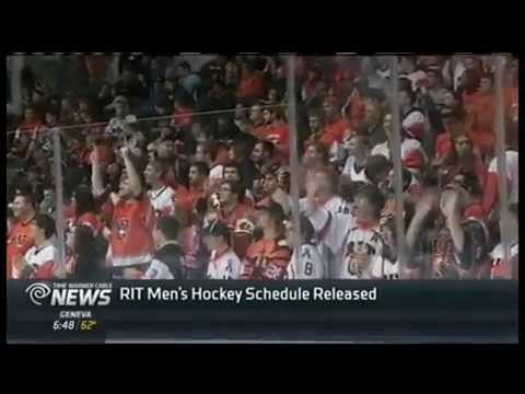 RIT on TV: Men's Hockey releases 2015-2016 schedule on TWC