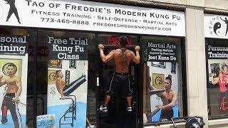 Kung Fu Tutorial - Fingertip Doorway Pull Ups