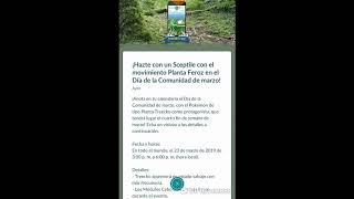 Noticias de Pokémon Go - Sceptile con Planta Feroz durante el Día de la Comunidad en marzo 2019