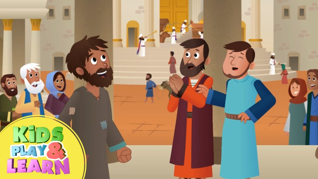 Lesson: Peter Heals a Man in Jesus Name (Acts 3) | Ministry-To ... | 720x1280