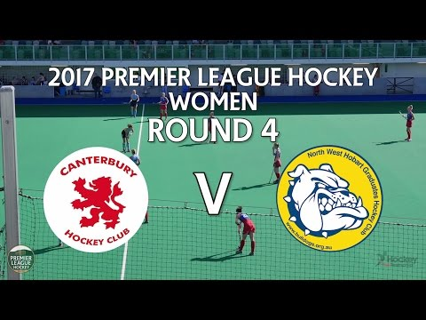 Canterbury v North West Grads | Women Round 4 | Premier League Hockey 2017