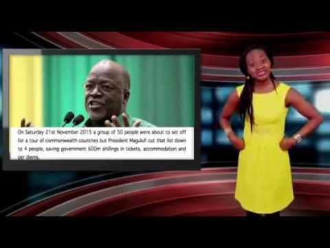 mtangazaji wa nigeria amsifia Raisi J P Magufuli