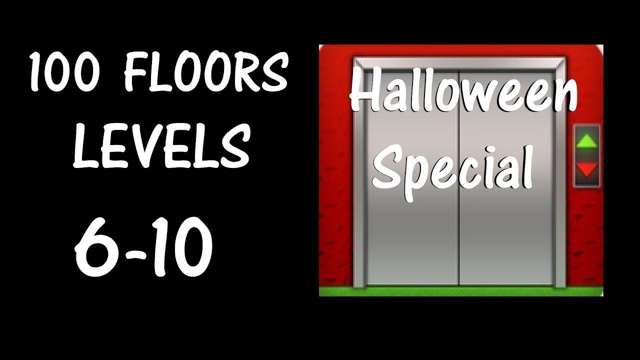 100 Floors Levels 6 10 Halloween Special Seasons Tower