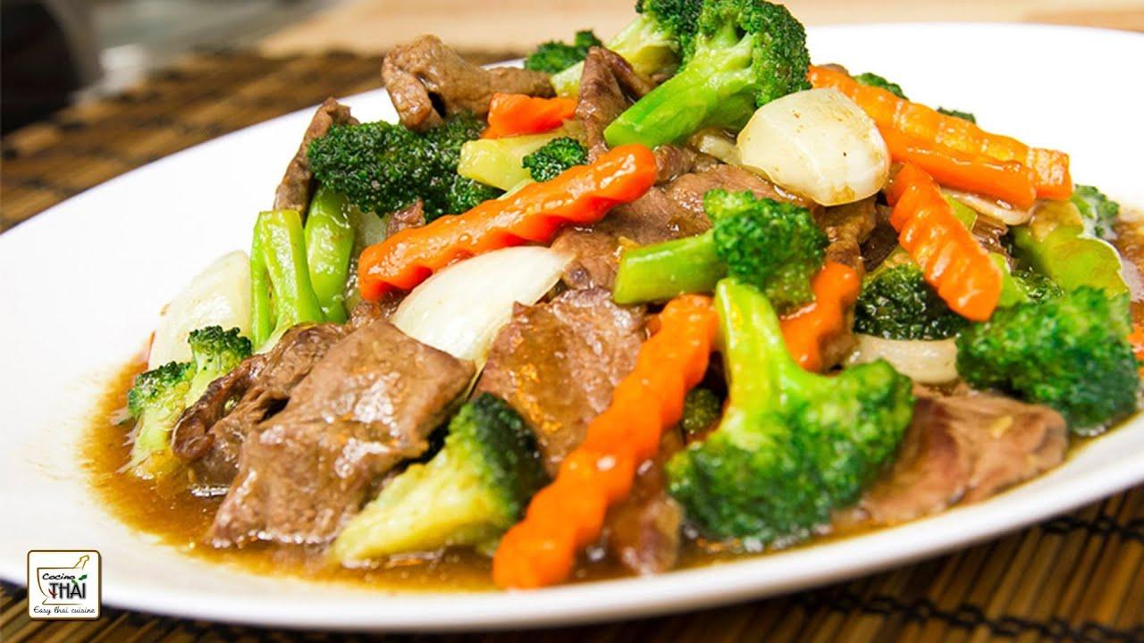 Como hacer salteado de ternera con br coli cocina asi tica - Como hacer verduras salteadas ...