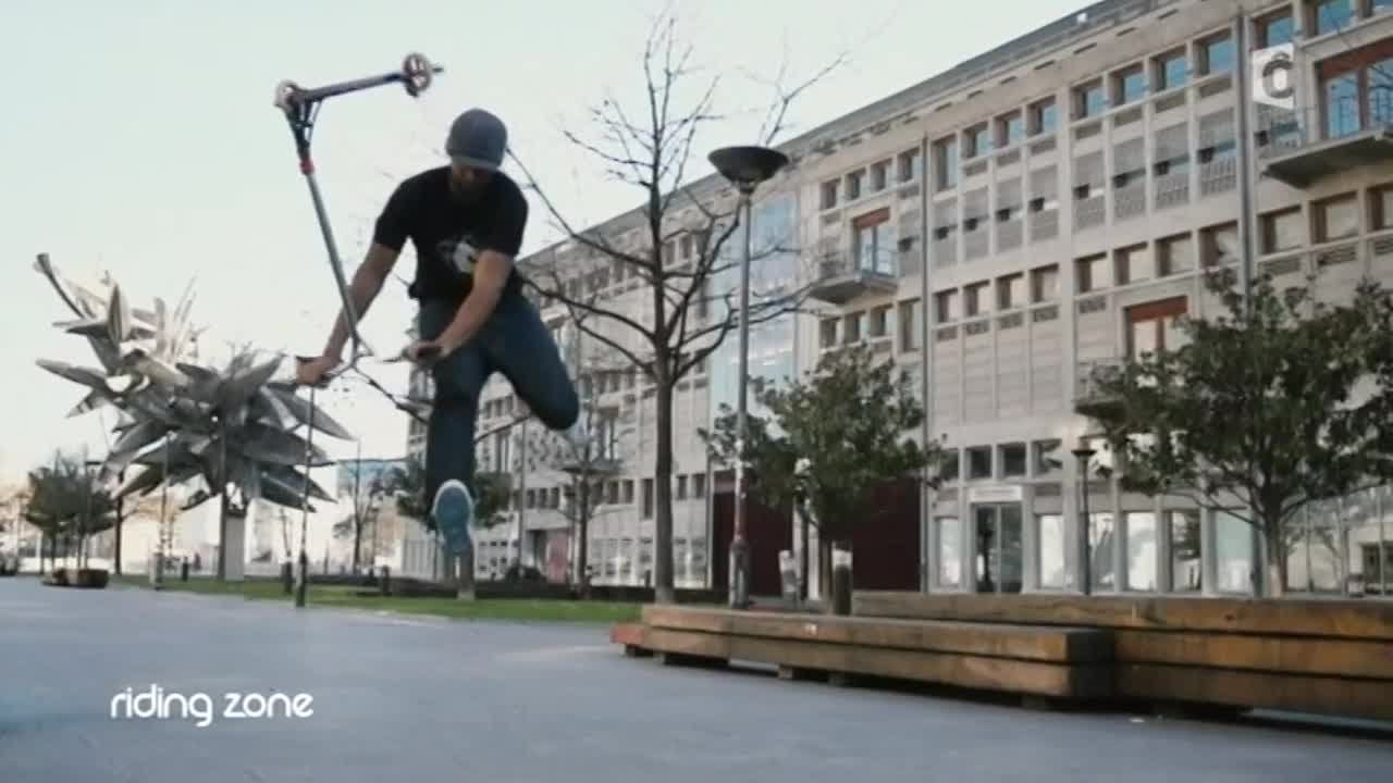 Trottinette Freestyle : Le Bri Flip par Jean-Yves Randriambelson (TUTO)