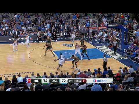 Milwaukee Bucks vs Dallas Mavericks | November 6, 2016 | NBA 2016-17 Season