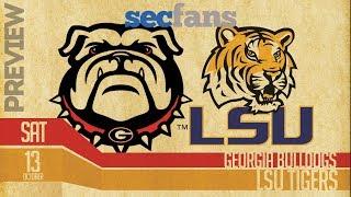 Georgia vs LSU - Preview & Predictions 2018 College Football