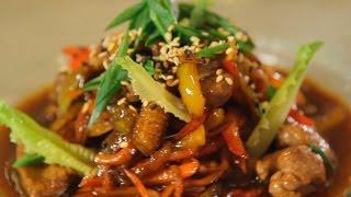 Телятина с овощами в тайском стиле. Рецепт от шеф-повара.
