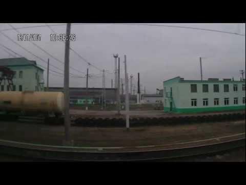 Рязань 2 - Рыбное из окна поезда