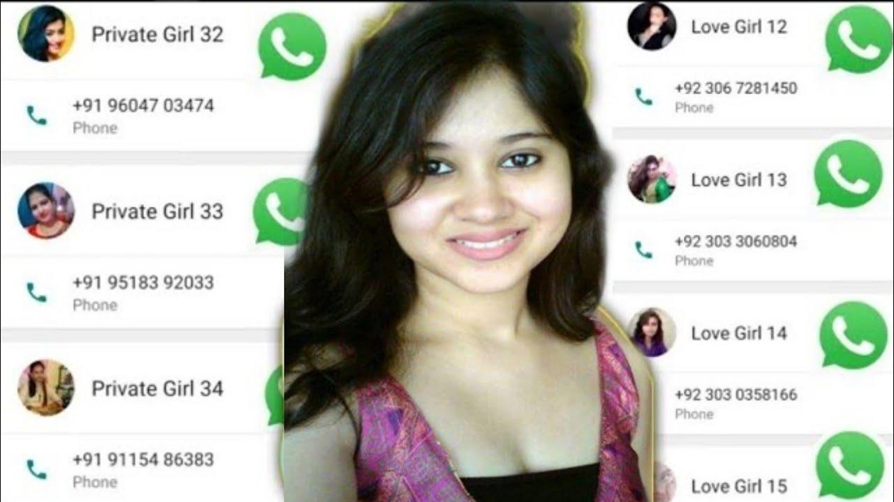 Whatsapp number girl