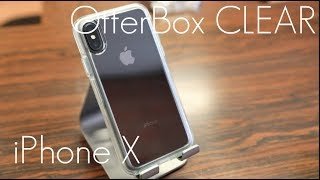 "The Best ""Protective"" Clear Case! - OtterBox Symmetry CLEAR - iPhone X / XS / MAX - Hands On Review"