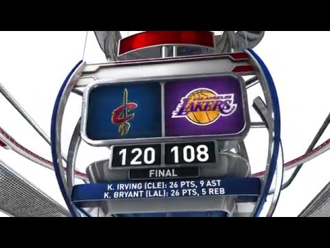 Cleveland Cavaliers vs Los Angeles Lakers - March 10, 2016