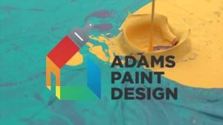 Adams Paint Design web feed