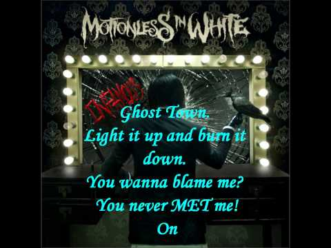 The Divine Infection by Motionless In White Lyrics HD