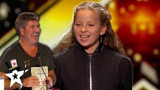 Issy Simpson Gets Simon Cowell Laughing With Magic on AGT Champions    Magicians Got Talent