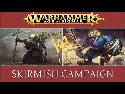 Aos Skirmish Campaign EP04: Skaven vs Seraphon