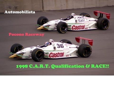 Automobilista: 1998 C.A.R.T. @ Pocono Raceway, Pennsylvania! With Track IR + adv.Radio spotter!