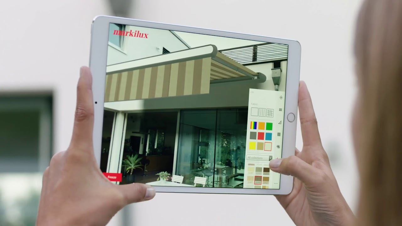 Elmars Raumdesign Markilux 3d App Youtube