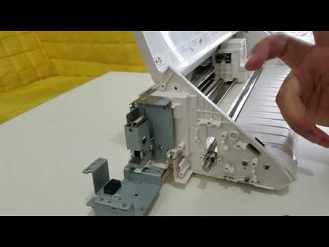 How to replace roller and cleaning on silhouette Cameo 2