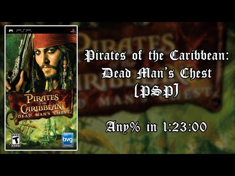 pirates of the caribbean dead mans chest psp