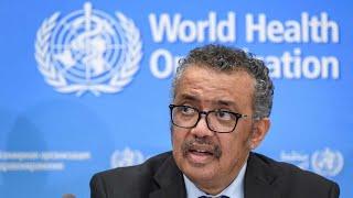 WATCH: The World Health Organization holds the latest coronavirus briefing
