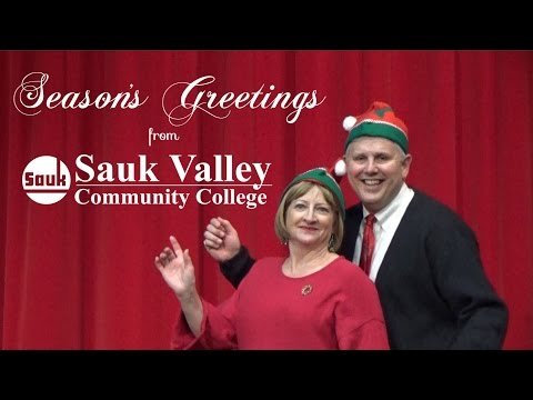 Seasons Greetings from Sauk Valley Community College - 2016