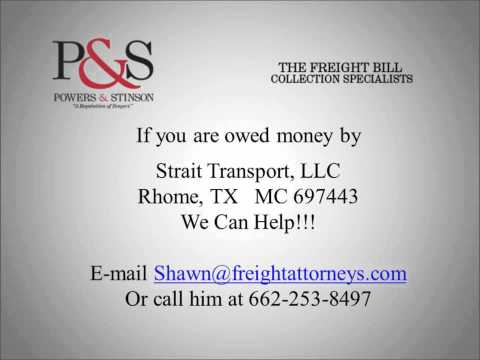 Strait Transport, LLC