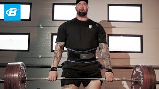 Inspire. Motivate. Achieve. | Hafthor Bjornsson Workout Motivation