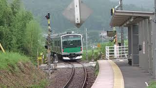 架線は無くとも電車は走る?! 蝉時雨の滝駅にて…ACCUM・EV E301系